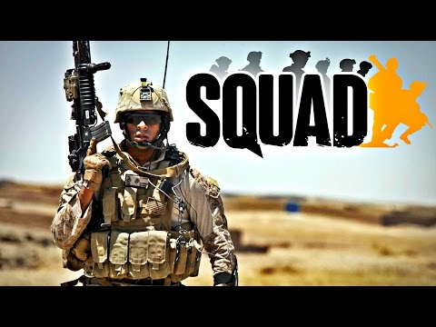 USA vs RUSSIAN MORTAR ATTACK - 40 vs 40 - Squad Realistic Combat
