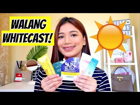 TOP 5 Sunscreen in the Philippines OK GAMITIN ARAW ARAW ☀️