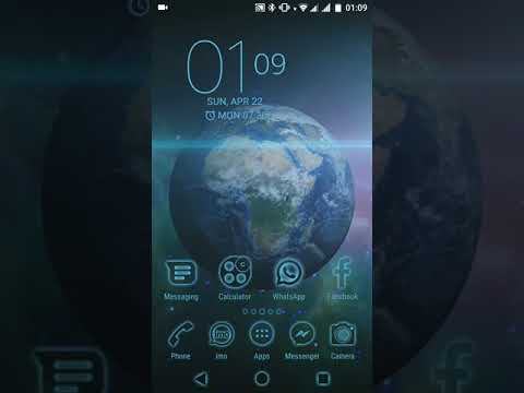 Earth In The Galaxy Xperiatheme Live Wallpaper Apps On Google Play