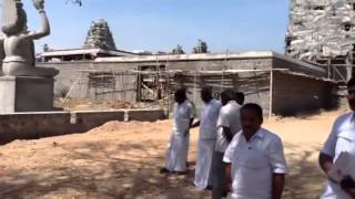 Muthur Kuppanna Samy Temple new facility for meat cutting