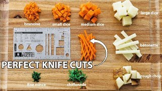 How to Master Basic Knife Skills - Knife Cuts 101