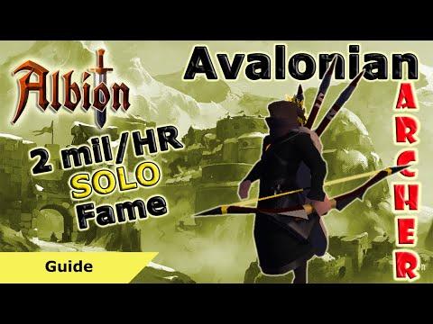 Avalonian Archer SOLO Farming Guide - 2 Mil Fame/HR | Albion Online
