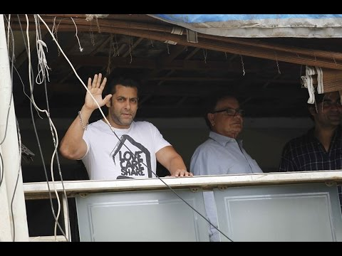 SALMAN KHAN'S 51 Birthday at galaxy apartments | Bandstand |