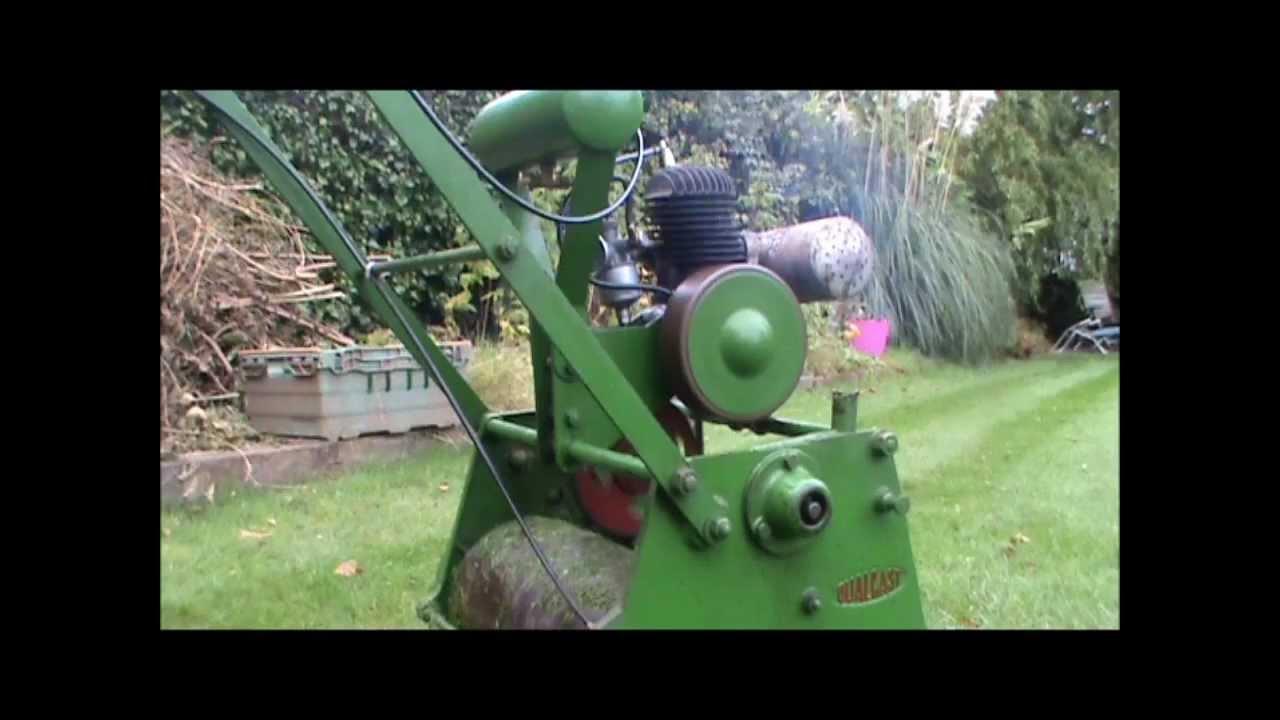Qualcast Sixteen Vintage Lawn Mower Villiers Midget 98cc