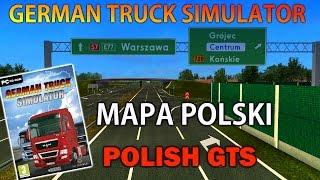 German Truck Simulator Mapa Polski - Polish GTS #1