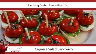 Amy's Quick Tips: Caprese Salad Sandwich Bites