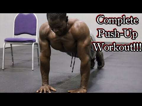 Build A Stronger Chest (Push-Ups ONLY!!!)