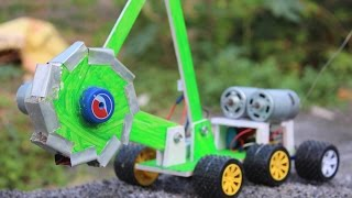 How to make a Bucket Wheel Excavator - make your own creation