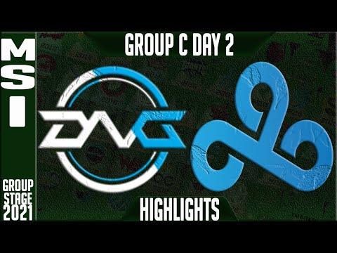 C9 vs DFM Highlights | MSI 2021 Day 2 Group C | Cloud9 vs Detonation FocusMe