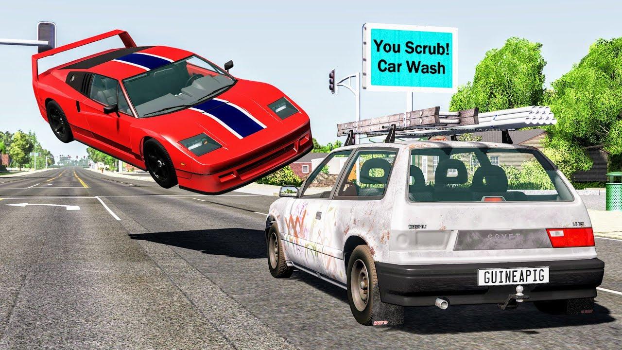 Download Loss of Control Crashes #48 – BeamNG Drive | CrashBoomPunk