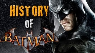History Of Batman! From His Origin To Now!