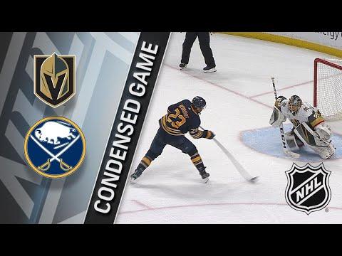 03/10/18 Condensed Game: Golden Knights @ Sabres