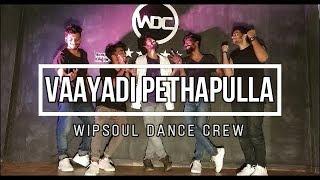 Vaayadi Petha Pulla  | Dance choreography | Sivakarthikeyan | Wipsoul Dance Crew