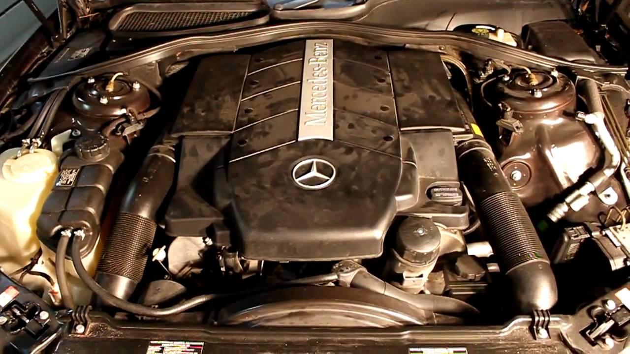 M113 5 0 V8 Mercedes Benz S500 Running After New Cps