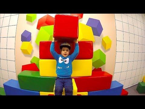 Kids Indoor Playground Playing with toys Building Bricks & Blocks Family Fun Playtime Pretend Play