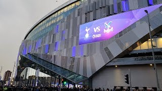 Spurs New Stadium - First Home Match - Spurs v Crystal Palace - 3rd April 2019