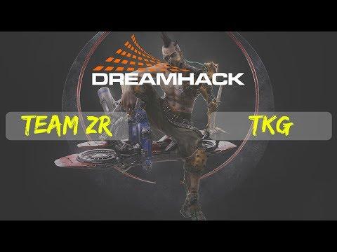 Team zR vs TKG | 4x4 | Quake Champions | Dreamhack Winter | qualifiers | South America