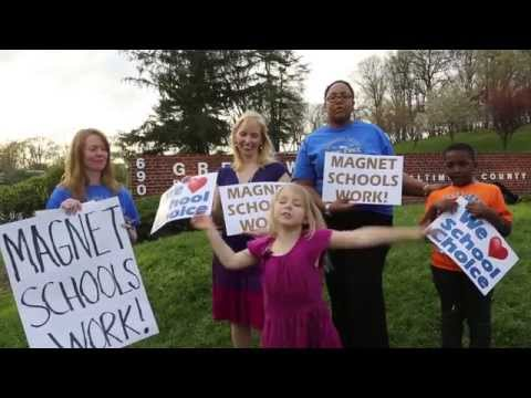 Rally to Save Baltimore County's Magnet Schools (4/21/15)