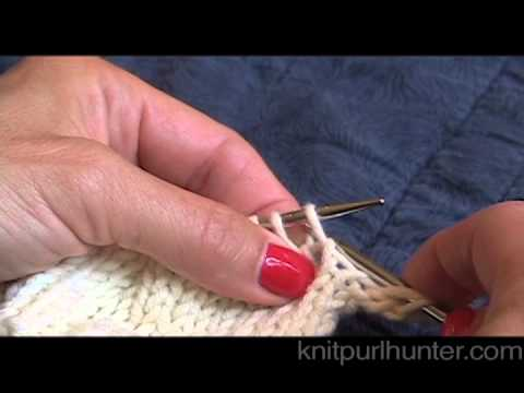Knit Through The Back Loop Ktbl Youtube