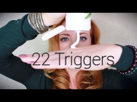 22 ASMR Triggers | No Talking | Intensely Relaxing Sounds