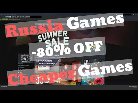 HOW TO CHANGE STEAM ACCOUNT REGION TO RUSSIA (CHEAPER GAMES)