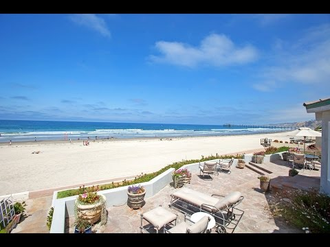 Oceanfront Beach House in La Jolla, California