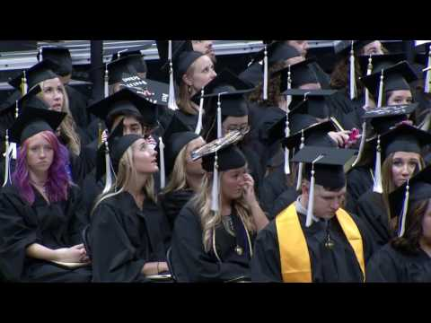 University of Iowa CLAS 1PM Commencement - May 13, 2017
