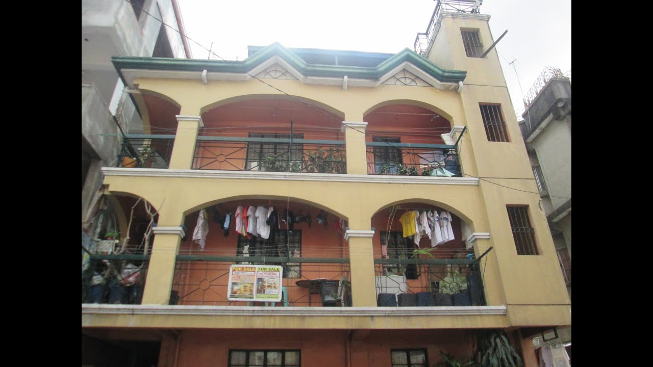 For sale 4 storey apartment building sampaloc manila with for 8 unit apartment building for sale