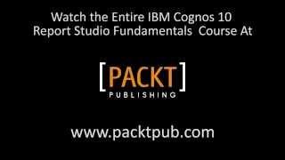 IBM Cognos 10 Report Studio Tutorial: Using JavaScript to show or hide controls   packtpub.com