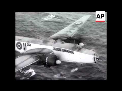 RAF SINK U-BOATS OFF IRELAND