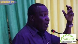 Hotuba ya Waziri wa Kilimo Dokta. Charles Tizeba katika uzinduzi wa Sagcot Kongani ya Mbarali- Mbeya