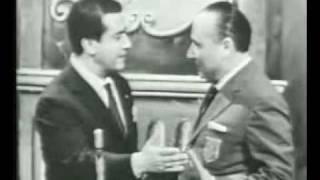 Giuseppe Di Stefano on a Italian TV Game Show  - Serenata sincera
