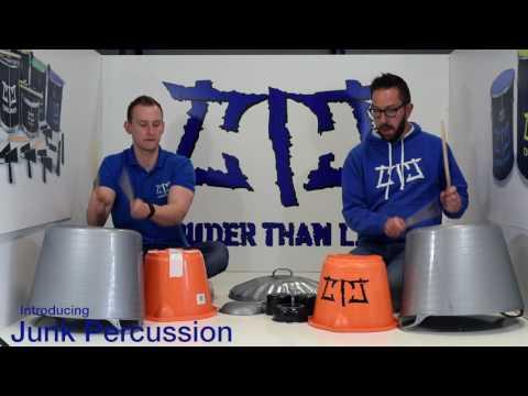 Junk Percussion - World Music Instruments