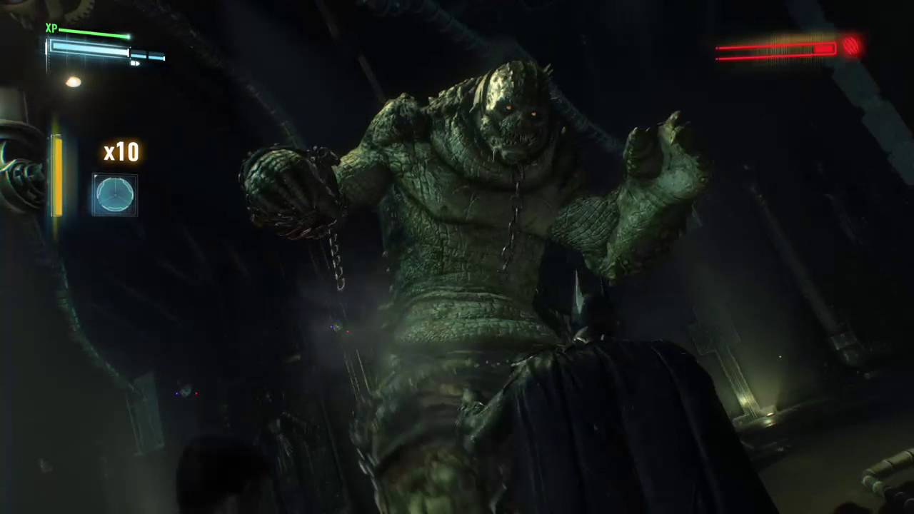 Batman™: Arkham Knight - Killer Croc Epic Takedown - YouTube