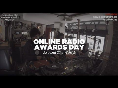 Mixcloud Online Radio Awards Day w/ Around The World • LeMellotron.com