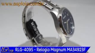 fe3bb6e47fb RLG 4095 Relogio Magnum Masculino Analógico MA34923F