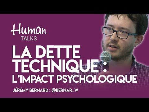 De la dette technique à la dette psychologique par Jérémy Bernard