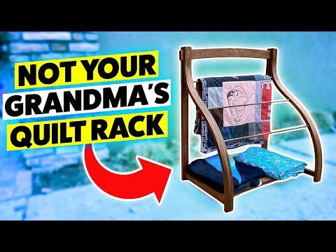Download Not Your Grandma's Quilt Rack | Bent Lamination