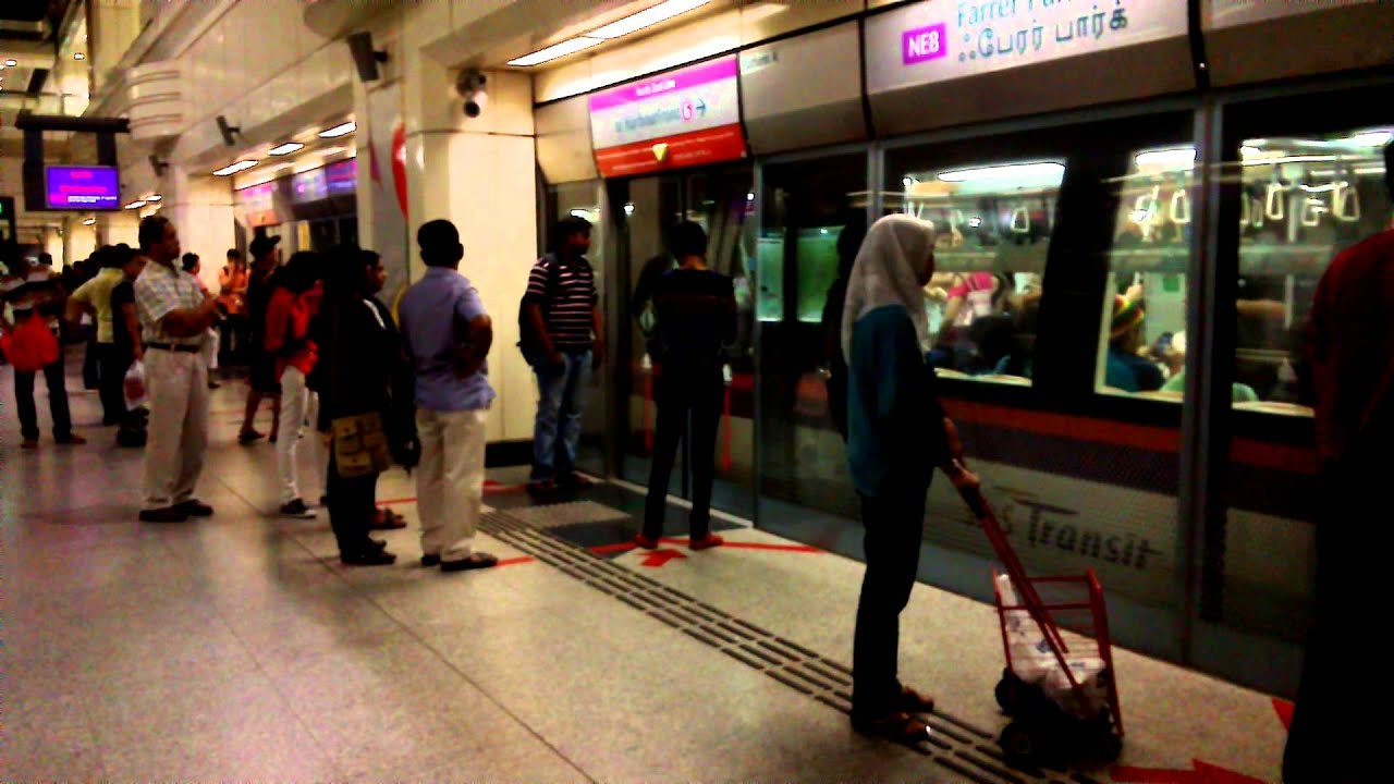 Singapore Mrt Subway Railroad Metro Underground Youtube