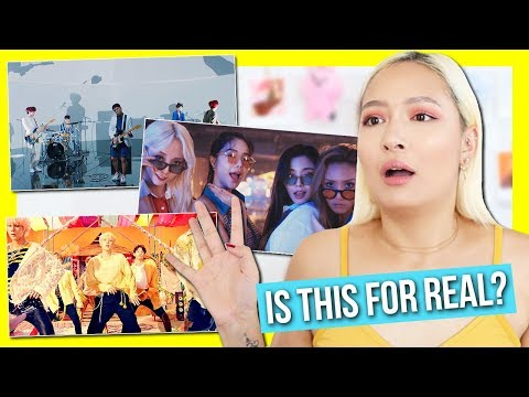 VAV 'GIVE ME MORE' + DAY6 'TIME OF OUR LIFE' + MAMAMOO 'GLEAM' MV REACTION: CATCHING UP ON KPOP