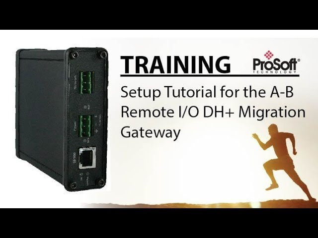 Set Up: DH+ to EtherNet/IP PanelView migration gateway for PLC5s