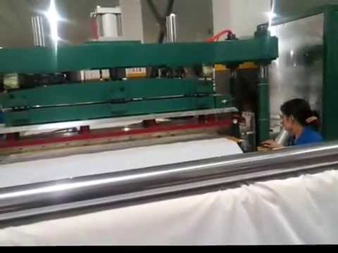 shower curtain welding machine
