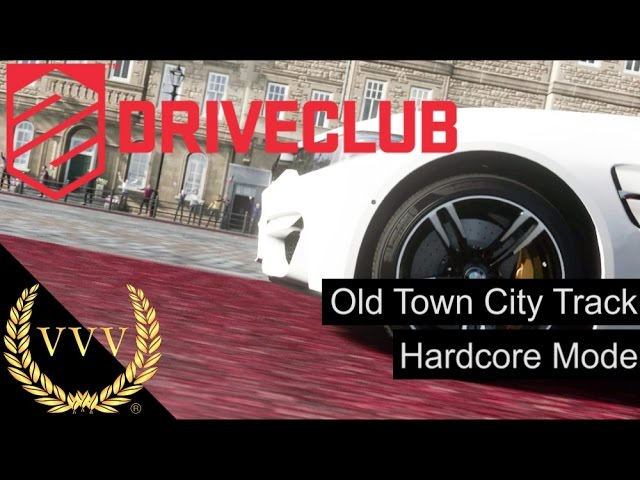 Driveclub Old Town City Track & Hardcore Mode