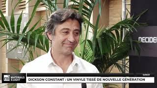 Materials & Light 2021 - Dickson Constant : Un vinyle tissé de nouvelle génération