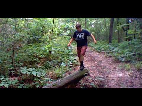 "Lyman Ward Military Academy obstacle course. ""The Ranger Trail"""