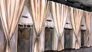 Эскизы штор | Видео текстильного декора интерьера(На видео представлены некоторые из наших работ по выполнение пошива штор на заказ. Все эскизы авторские...., 2013-04-12T07:32:01.000Z)