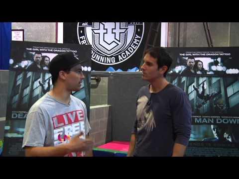 Humberto Guida interviews Collin Ferrell's body double -Stuntman Gabriel Nuñez
