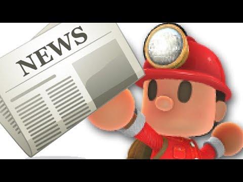 Spelunker World Gameplay- Giving news