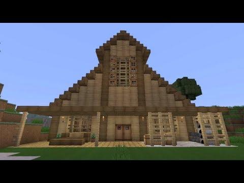 Minecraft Barn Design YouTube