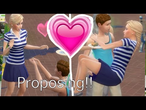 BRYCE FALLS IN LOVE (Part 2) Sims 4